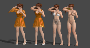 Kasumi Casual Dress Completed by bstylez
