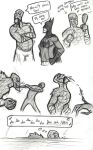 More Killer Croc Sketches by rchlisawesome