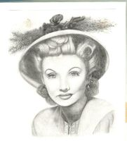 Lucille Ball by naniloa86