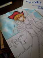 WIP: Coloring Pirate England by marikit