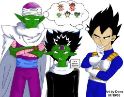 Sayian or Namek? by CatQueenOfPluto
