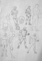 practice for poses 1 by SAibIRfan