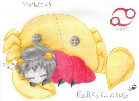 Karkat Grubs by Sury475