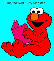 Elmo the furry red Monster by AmberJad3S3xt0n