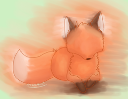 WaterColor Fox by MarbleMyst