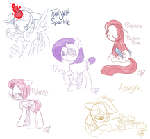 Sketchy Doodles by InkieHeart