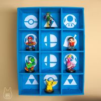 Smash Bros. Amiibo Display Case (Tutorial) by studioofmm