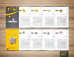 ketabeavval brochure by E30X