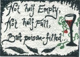 Poison Filled - ACEO by Orchid-Black