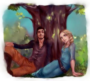 Commission: Lars Kestner and Annika Echelle by ymymy