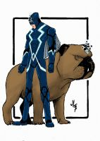 Blackbolt And Lockjaw by JohannLacrosaz