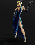 Character Concept - 1920s - Lynette Fontainae by TweeKeD-Art