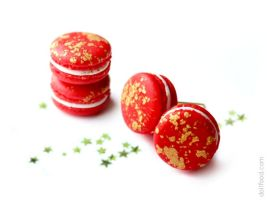 Christmas Macarons Earrings Post by allim-lip