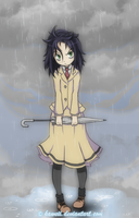 Kuroki Tomoko: Umbrella is for loosers. by Kaweii