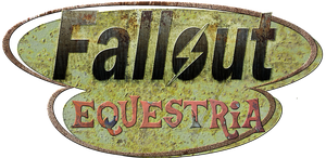 Fallout Equestria logo by JustMoth