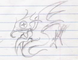 lizard bat bird dragon :3 by nelson1990