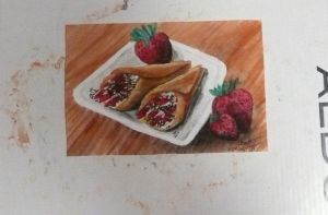 Strawberry Crepes by RinnG