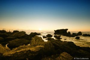 rocky shore 3 by Yair-Leibovich