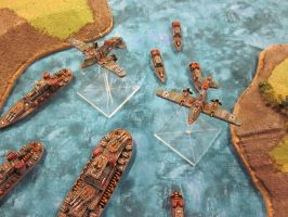 dystopian wars Prussians  2 by ultrasmurf