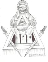 all seing eye by RidiculousArts