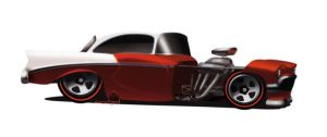 Chevy Bell air Street Rod by candyrod
