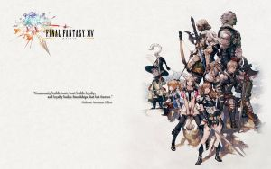 Final Fantasy XIV Wallpaper 2 by haomaru87