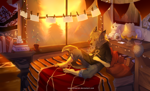 Lazy summer afternoon by synderen