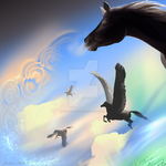 Day of the Pegasus by Misted-Dream