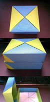 Origami Tower Box by Heyro0