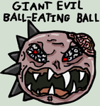 Giant Evil Ball-Eating Ball by BANGDK