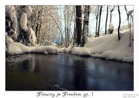 Flowing to Freedom I by Lorvija
