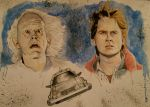 back to the future painting by Barfly1986