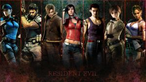 Resident evil wallpaper by volpavol