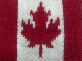 Can-Knit-A Flag by I-Am-Canadian-Eh