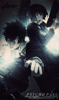 Psycho pass Signature by Myurdiansyah