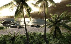Crysis Island Wallpaper. by ZULU-CAL