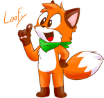 Loofy the Fox by SkyCatchilla6900