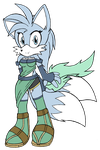 Lyn Amy Prower 2013 base-color by DragonQuestHero