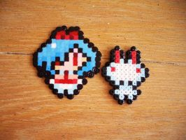 8Bit Pleinair Bead Sprite by SerenaAzureth