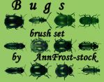 Bugs brush set by AnnFrost-stock