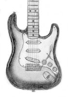 '56 Fender Stratocaster NOS by playfielder