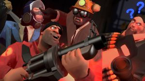 AN ORDINARY DAY IN TF2 by Legoformer1000
