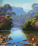 Megalong Creek by artsaus