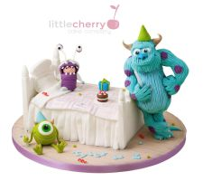 Monsters Inc Party by BlackCherryCake