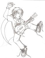 rOCK BAND hERO by Giosuke