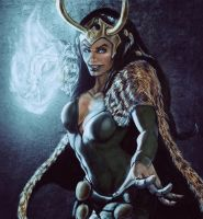 Lady Loki by brianlaborada