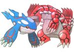 Groudon/Kyogre of Pokemon Emerald-the legendary by MAKATAKO
