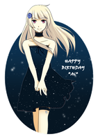.:Happy Birthday Ai:. by Na-Nami