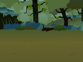 Everfree Forest Background 1 by BreadKing