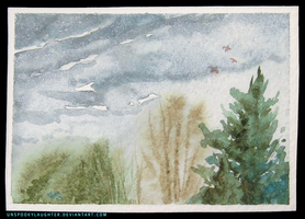 Stormy Spring ATC 3 by unSpookyLaughter